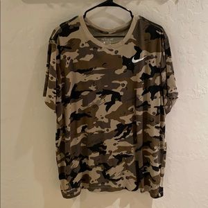 "Nike ""The Nike Tee"" Dri-Fit Camo Size XXL"